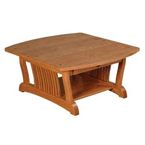 Simply Amish Royal Mission Square Coffee Table