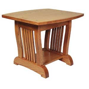 Simply Amish Royal Mission End Table