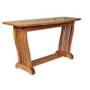 Simply Amish Royal Mission Sofa Table