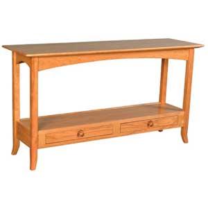 Simply Amish Shaker Amish Sofa Table
