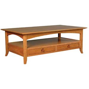 Simply Amish Shaker Amish Coffee Table