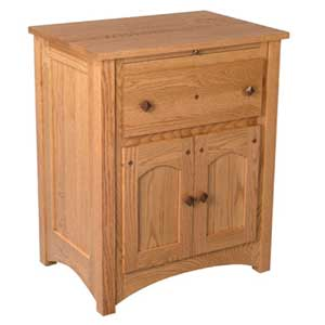 Simply Amish Royal Mission Deluxe Nightstand