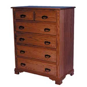 Simply Amish Classic Chest of Drawers