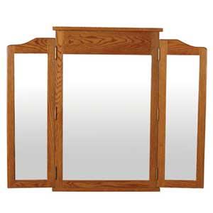 Simply Amish Shaker Amish Tri-View Mirror