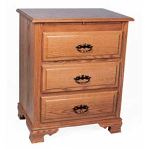 Simply Amish Classic Deluxe Bedside Chest