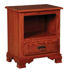 Simply Amish Classic Nightstand with Opening