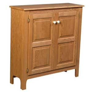 Simply Amish Country Double Door Pie Safe