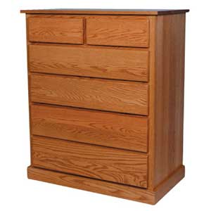 Simply Amish Mission Amish Chest of Drawers