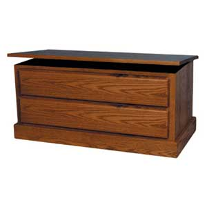 Simply Amish Mission Amish Blanket Chest with False Fronts