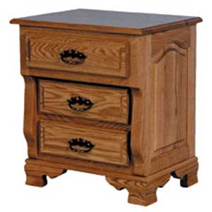 Simply Amish Heritage Amish Bedside Chest