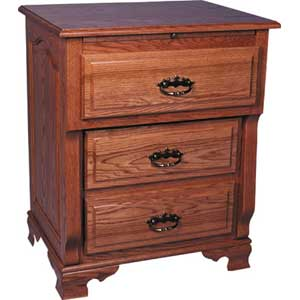 Simply Amish Heritage Amish Deluxe Bedside Chest