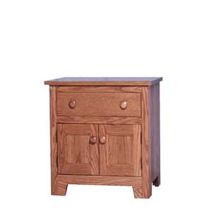 Simply Amish Shaker Amish Nightstand