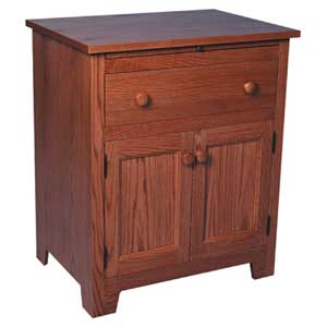 Simply Amish Shaker Amish Deluxe Nightstand