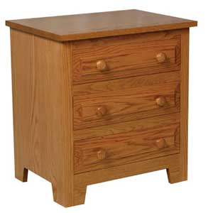 Simply Amish Homestead Amish Bedside Chest