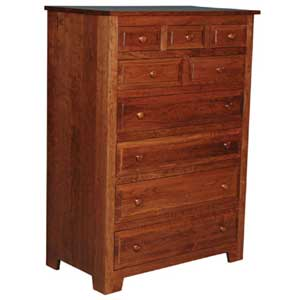 Simply Amish Homestead Amish 9-Drawer Chest