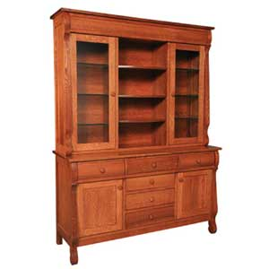 Simply Amish Empire Hutch