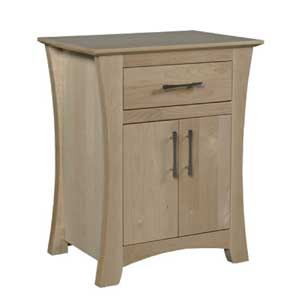 Simply Amish Loft Nightstand