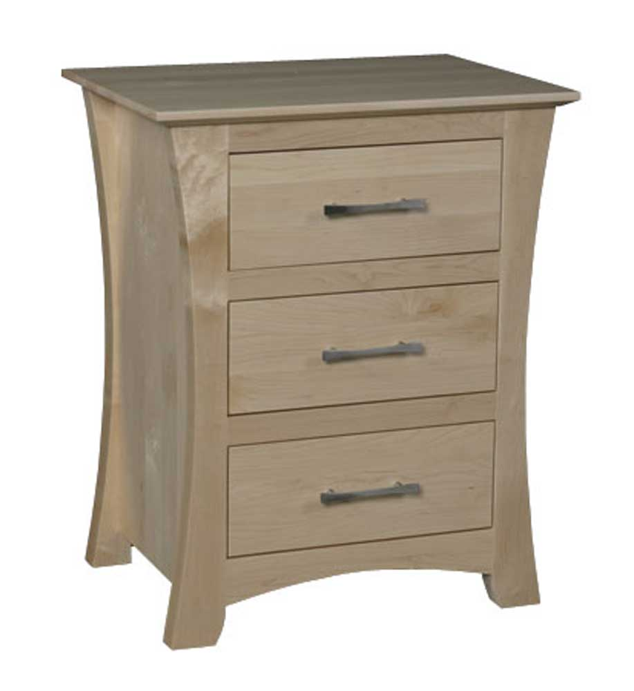 Simply Amish Loft Bedside Chest - Item Number: MEL19BC