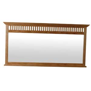 Simply Amish Mission Amish Bureau Mirror