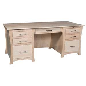 Simply Amish Loft Executive Desk
