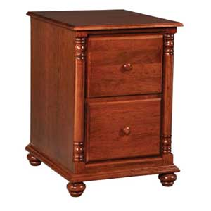Simply Amish Savannah 2-Drawer File Cabinet