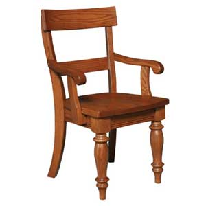 Simply Amish Savannah Dining Arm Chair