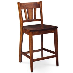 Simply Amish Shenandoah Sheffield Stationary Barstool