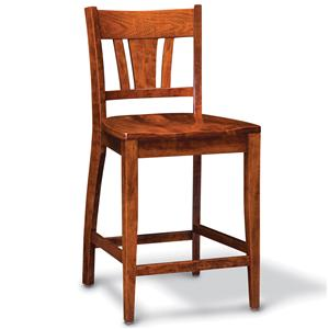 Simply Amish Shenandoah Stationary Barstool