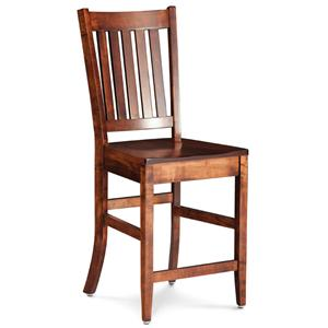 Simply Amish Shenandoah Wright Stationary Barstool