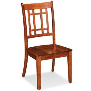Simply Amish Shenandoah Campbell Side Chair