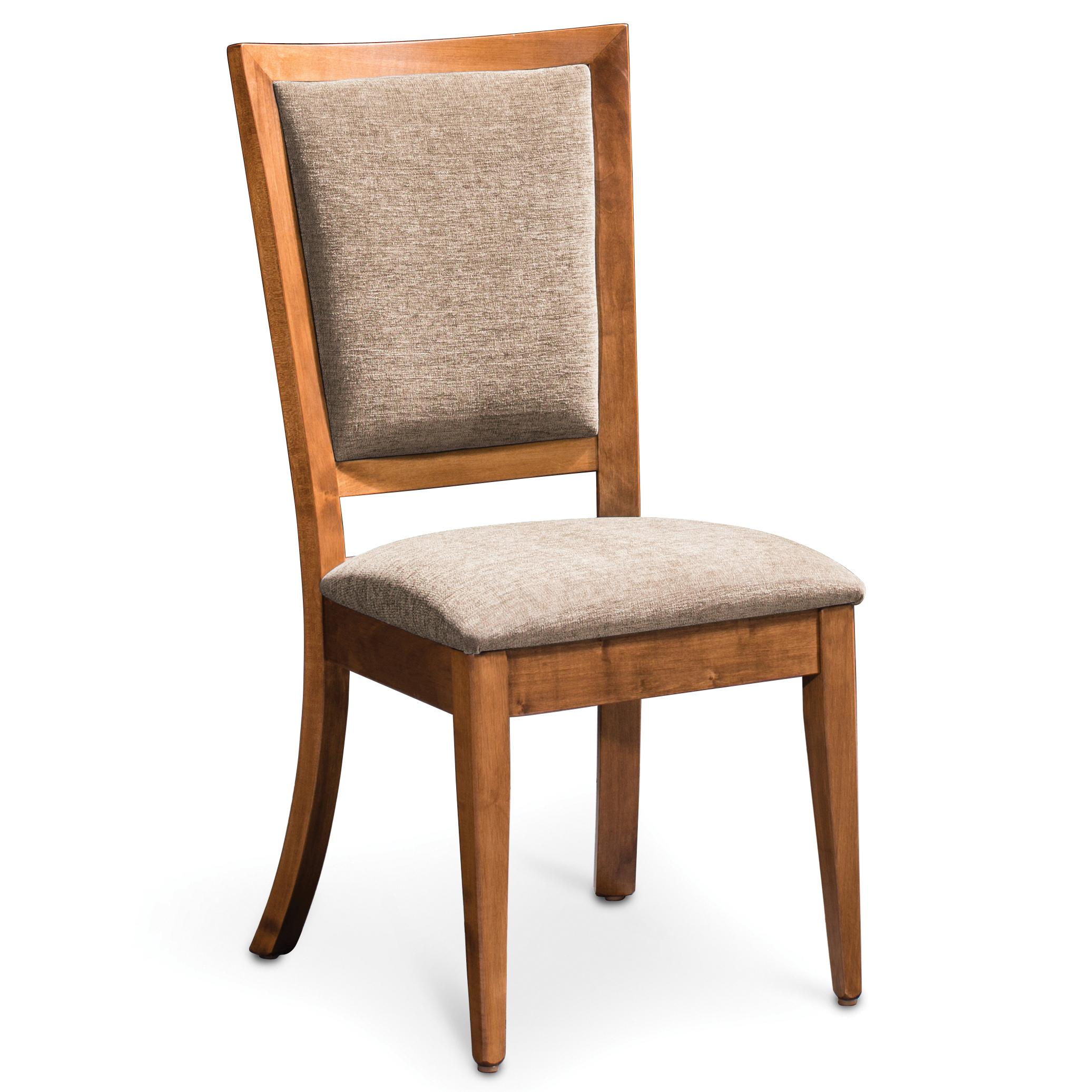 Simply Amish Studio Riverton Side Chair - Item Number: ECRIV-02A-F0608-S28