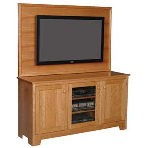 Simply Amish Shaker Amish Plasma Back TV Stand