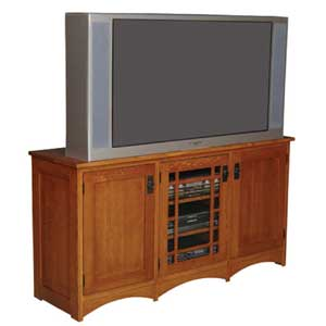 Simply Amish Prairie Mission TV Stand
