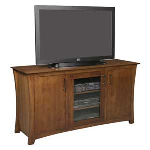 Simply Amish Loft TV Stand