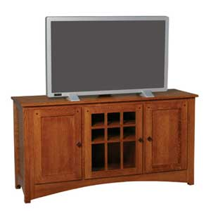 Simply Amish Royal Mission TV Stand