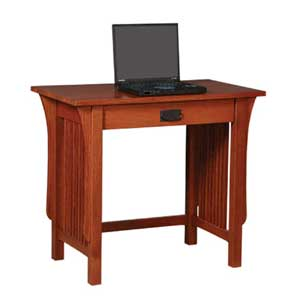 Simply Amish Prairie Mission Small Writing Table