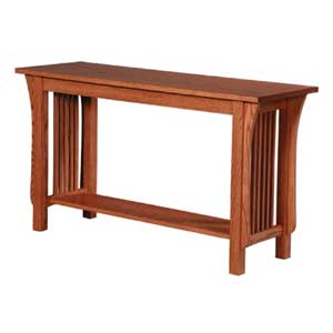 Simply Amish Prairie Mission Sofa Table