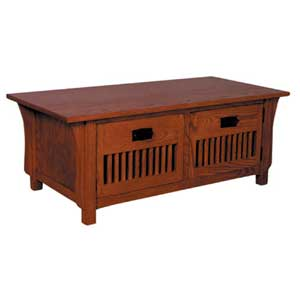 Simply Amish Prairie Mission Door Coffee Table