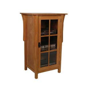 Simply Amish Prairie Mission Audio Cabinet
