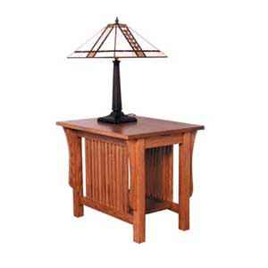 Simply Amish Prairie Mission End Table