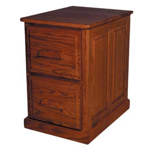 Simply Amish Classic 2-Drawer File Cabinet