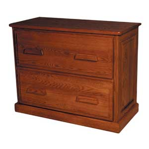 Simply Amish Classic Lateral File Cabinet