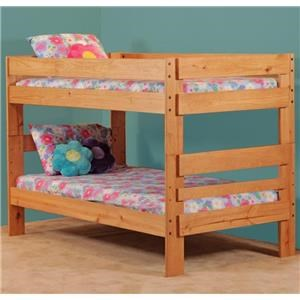 Simply Bunk Beds 702 Twin Bunk Bed
