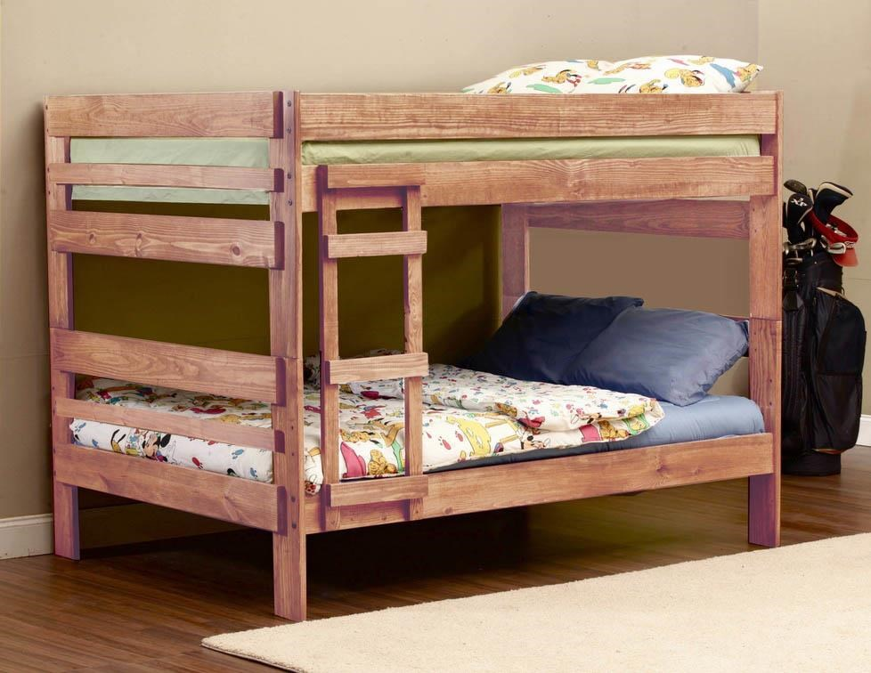 Simply Bunk Beds 707 Full over Full Bunk Bed - Item Number: 707+707R
