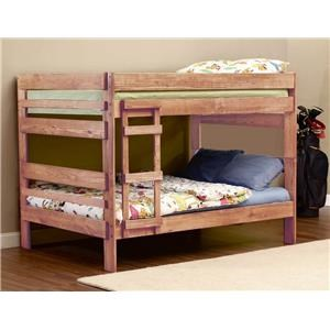 Simply Bunk Beds 707 Full over Full Bunk Bed