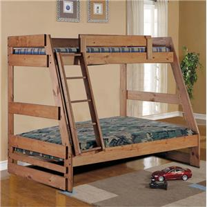 Simply Bunk Beds 709 Twin over Full Bunk Bed
