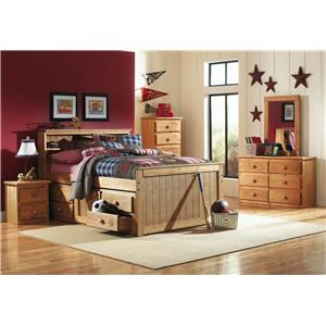 Simply Bunk Beds Pine NIGHTSTAND-ONE ONLY FLOOR SAMPLE!