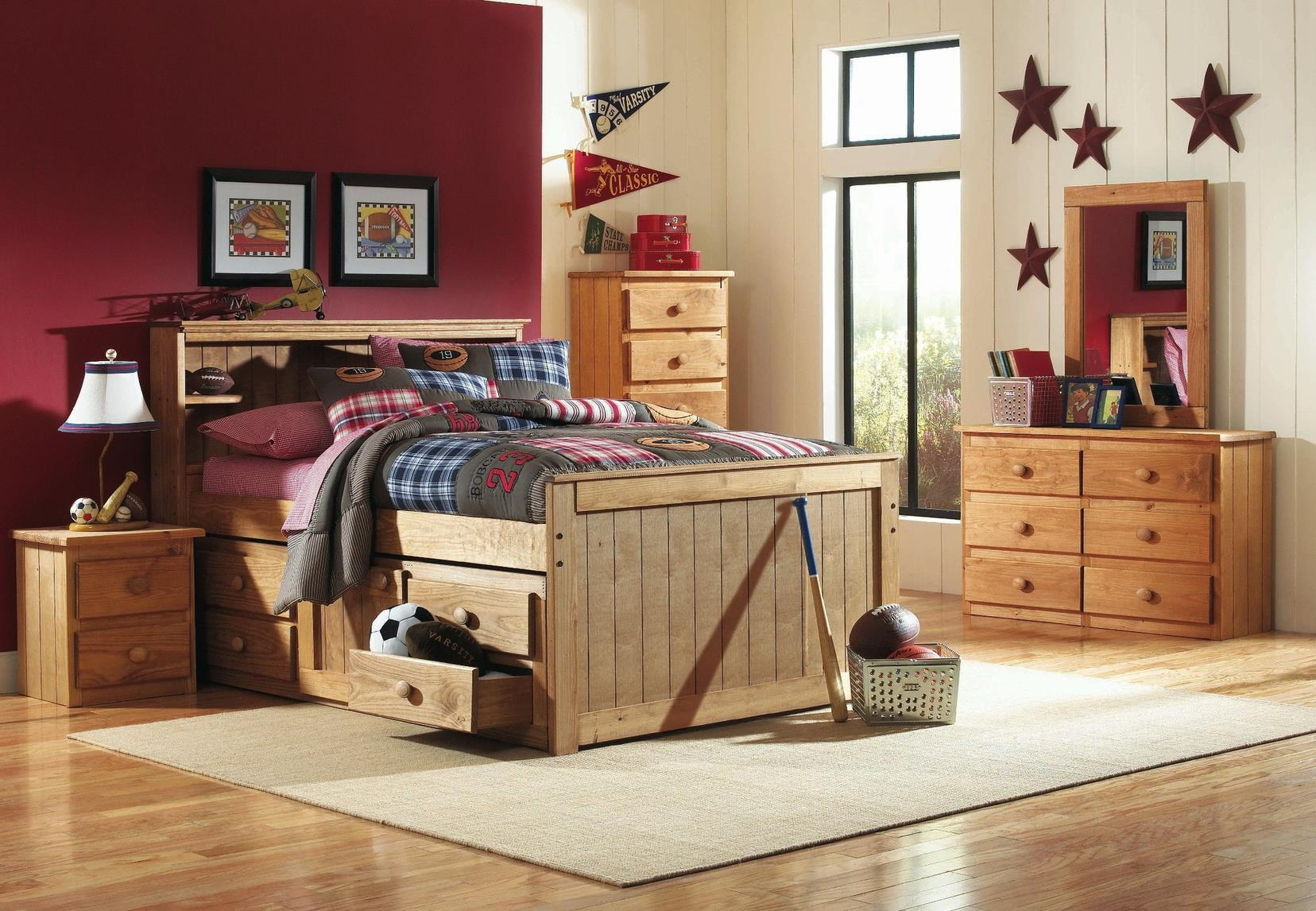 Simply Bunk Beds Pine 5 Drawer Chest ONLY Not pictured