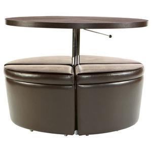 Sitcom Sedona Contemporary Lift Top Coffee Table With Piston Lift Mechanism