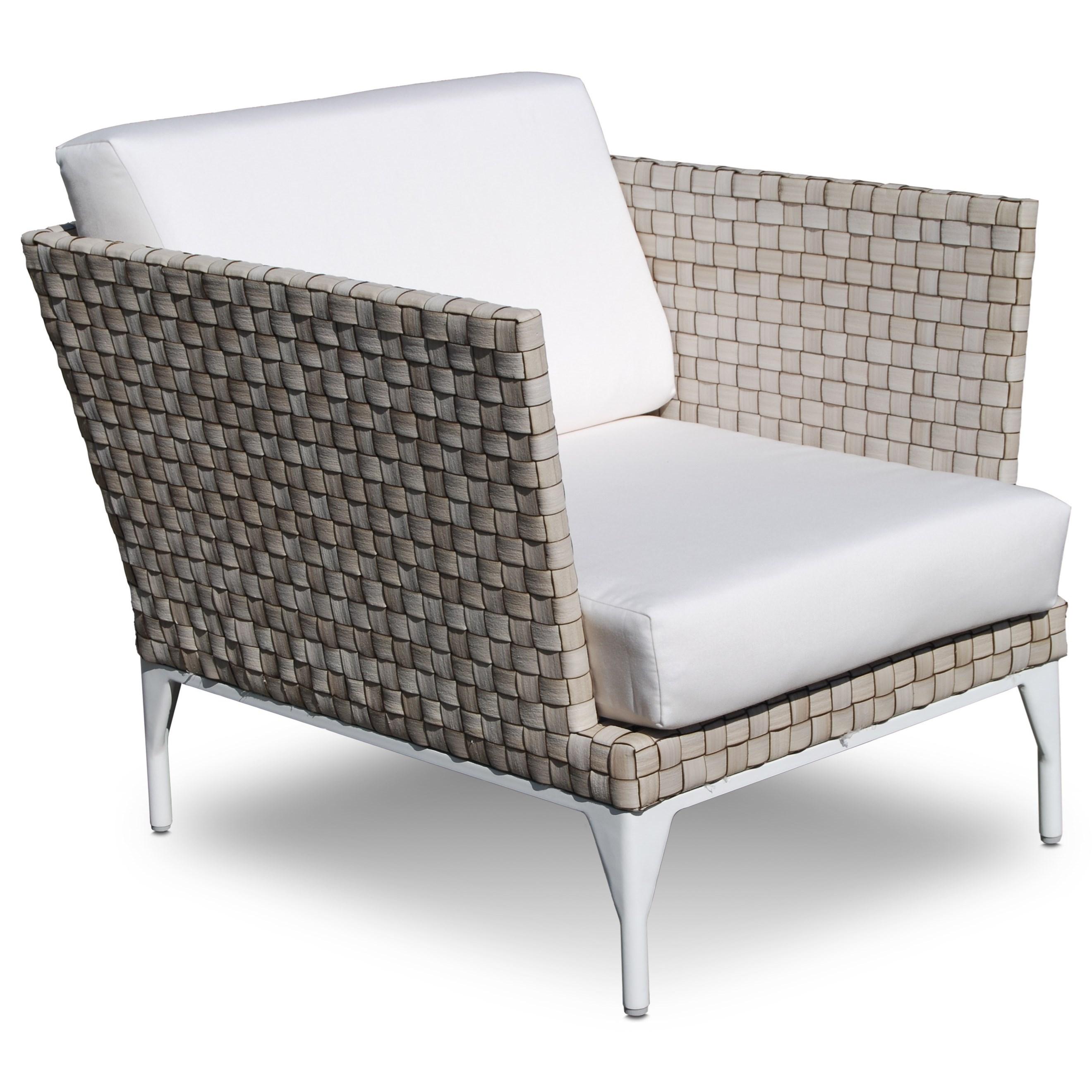 BRAFTA Outdoor Armchair by Skyline Design at Baer's Furniture